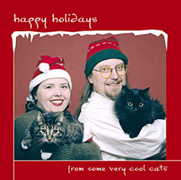 Happy Holidays... From some very cool cats